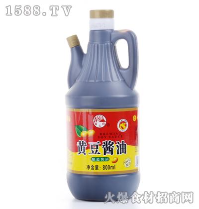 青云山黄豆酱油800ml