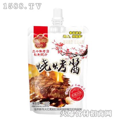 盛梅香辣风味烧烤酱120克
