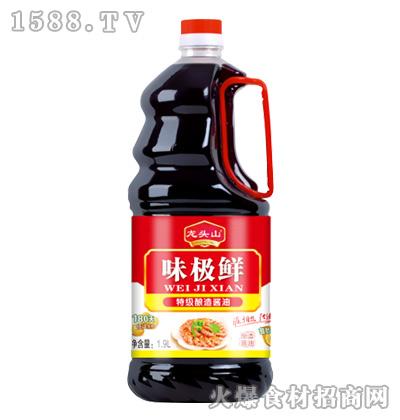龙头山味极鲜酱油1.9L