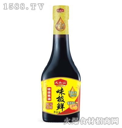 龙头山味极鲜特级酱油750ml