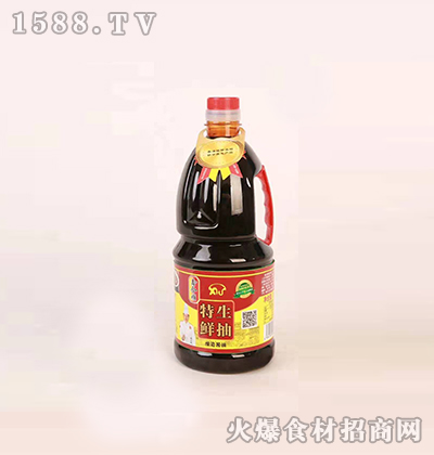 鑫和顺特鲜生抽酿造酱油1.8L
