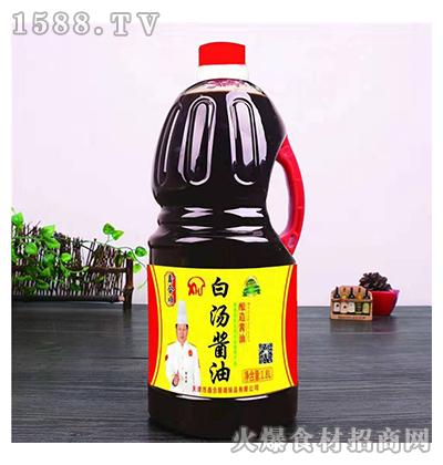 鑫和顺白汤酱油酿造酱油1.8L
