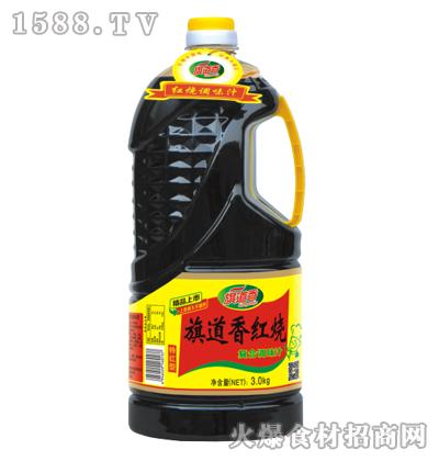 旗道香红烧复合调味汁(特红型)3kg