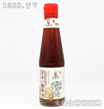 宏发祥古法小磨香油400ml