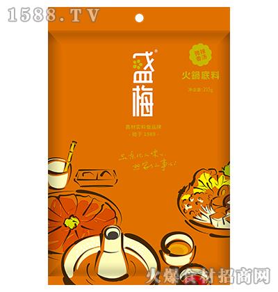 盛梅微辣香汤火锅底料215g