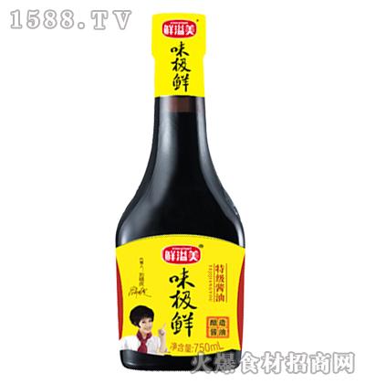 鲜溢美味极鲜酱油750ml