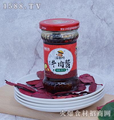 三木采菇仔-香菇牛肉酱200g