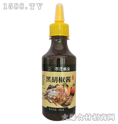 农庄黑胡椒酱280g