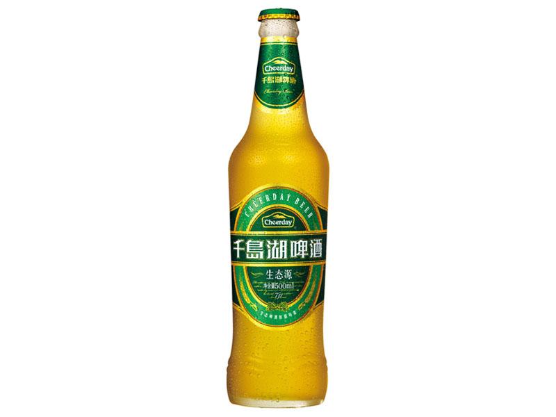 杭州千岛湖啤酒有限公司的【7度500ml(白瓶)生态源】