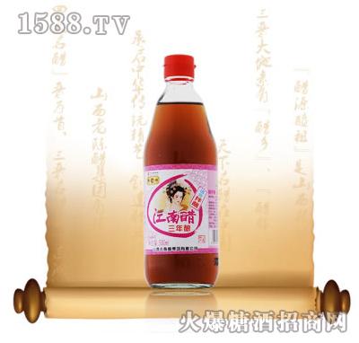精三年江南醋500ML