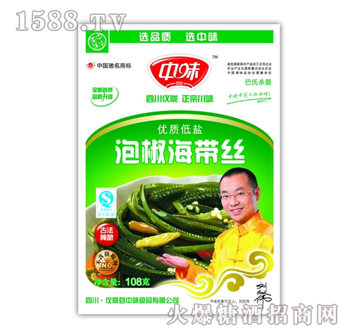 108g泡椒海带丝