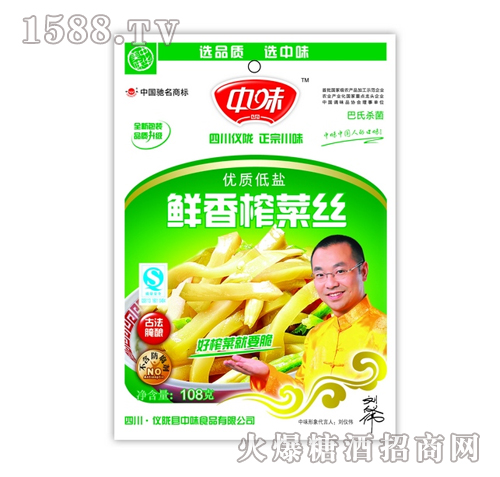 108g鲜香榨菜丝