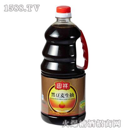 忠祥黑豆麦生抽-1.3L