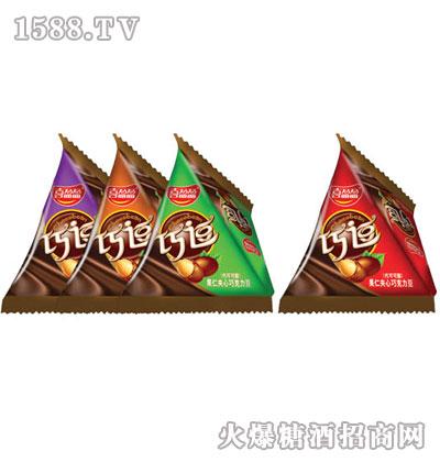 喜盈盈软糖系列-三角包巧克力