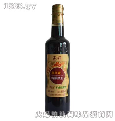 500ml黑豆麦纯酿豉油