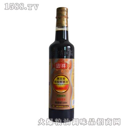500ml黑豆麦味极鲜酱油