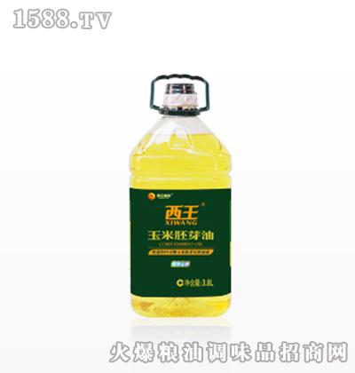 西王玉米胚芽油3.8L桶装