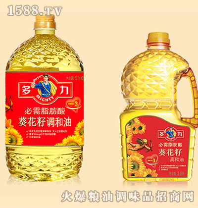 多力必需脂肪酸葵花籽调和油