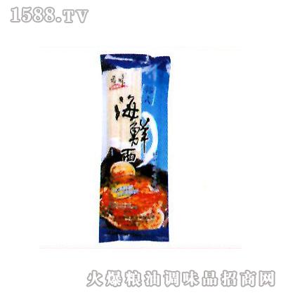 顶味韩式海鲜面250g