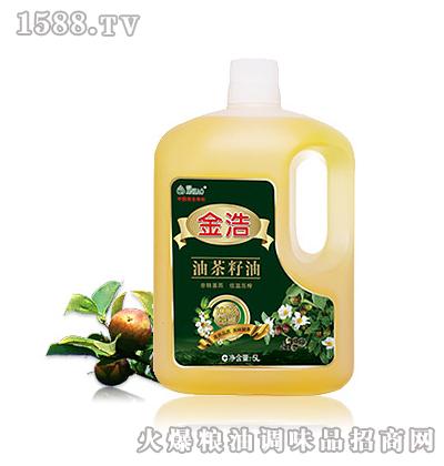 金浩油茶籽油(5L)