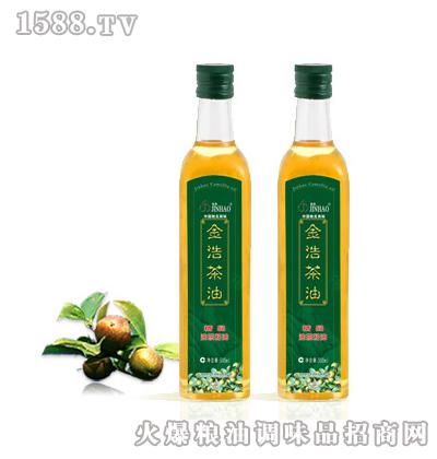 金浩茶油精品油茶籽油(500ml单瓶装)