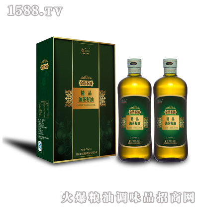 金浩精品油茶籽油750ml礼盒