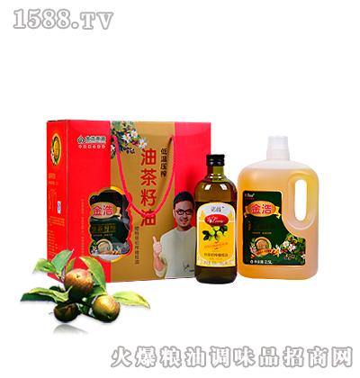 油茶籽油简易礼盒2l