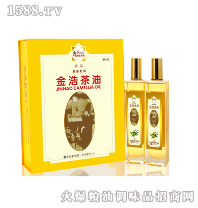 金浩油茶籽油礼盒500ml