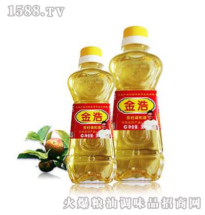 金浩茶油300ml茶籽调和油