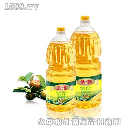 金浩茶油2.5L茶籽玉米调和油