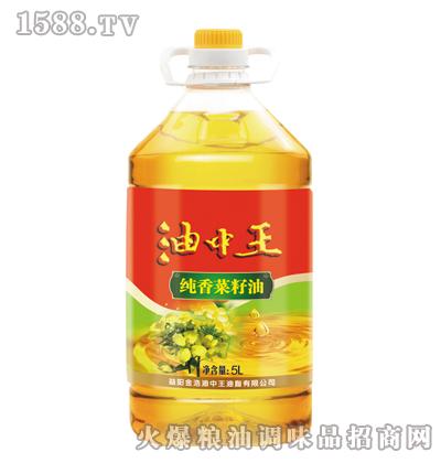 金浩油中王纯香菜籽油