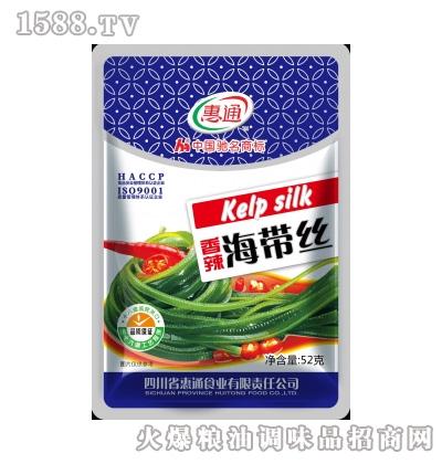 惠通香辣海带丝52g