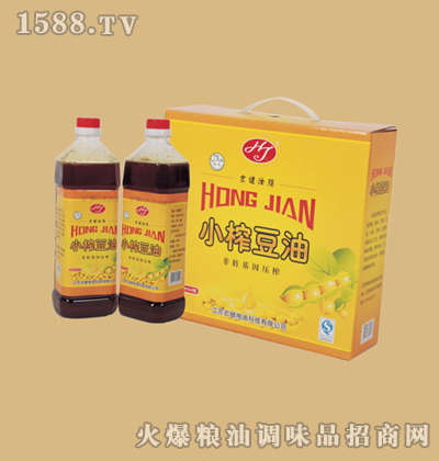 宏健小榨豆油(压榨)