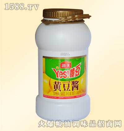 海天黄豆酱2kg