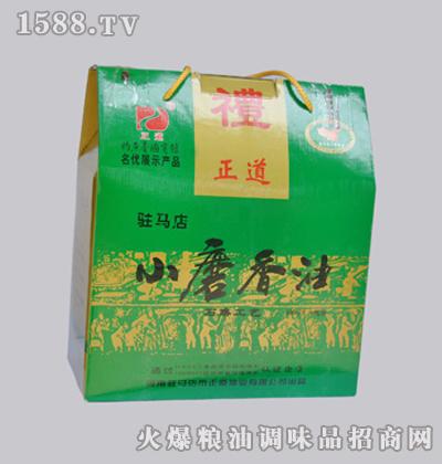 正道400mlX6-绿礼盒