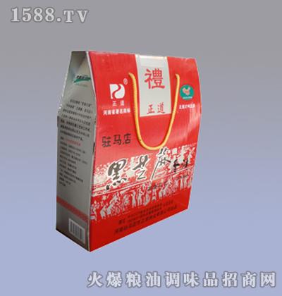 正道400mlX4-黑芝麻礼盒