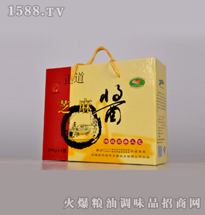 正道240gX4-芝麻酱礼盒