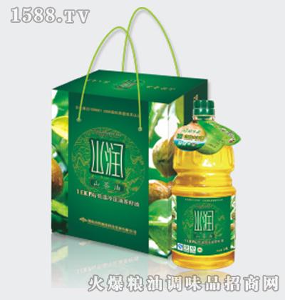 山润1.8L-X2山茶油低温冷压(绿色食品)