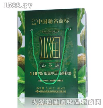 山润低温冷压山茶油(绿色食品)