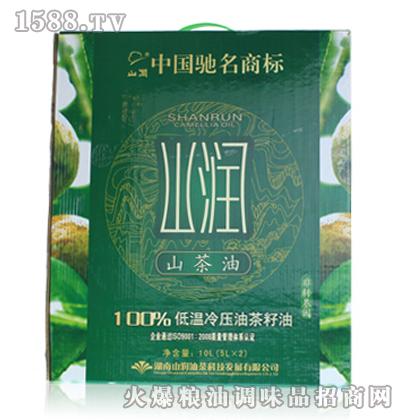 山润-低温冷压山茶油(绿色食品)5L礼盒