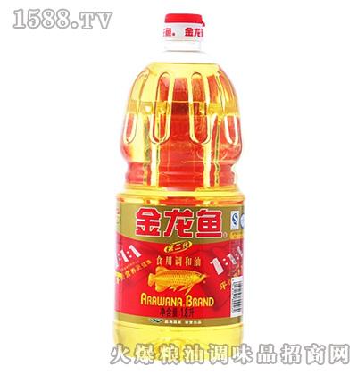 金龙鱼黄金比例调和油(瓶装1.8L)