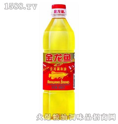 金龙鱼黄金比例食用调和油(瓶装900ml)