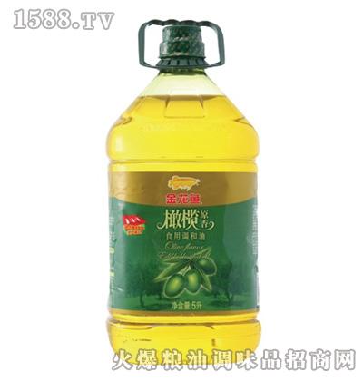 金龙鱼橄榄食用调和油(桶装5L)