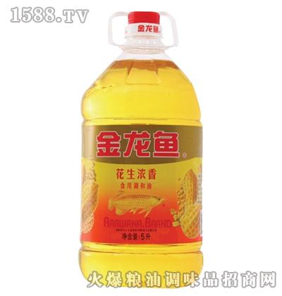 金龙鱼花生调和油(桶装5L)