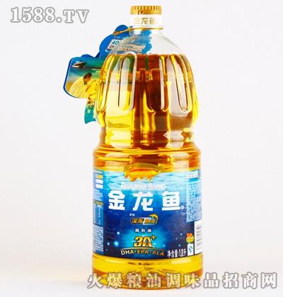 金龙鱼深海鱼油调和油(桶装-1.8L)
