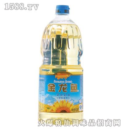 金龙鱼葵花籽油(瓶装1.8L)