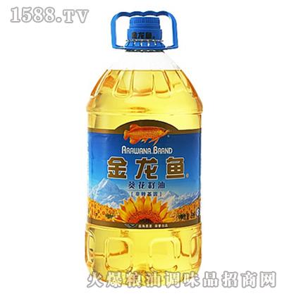 金龙鱼葵花籽油(瓶装5L)