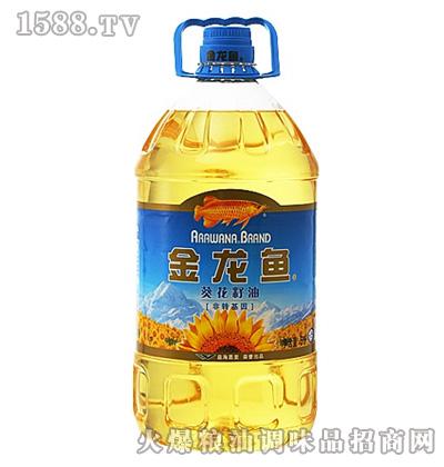 金龙鱼葵花籽油(5L瓶装)