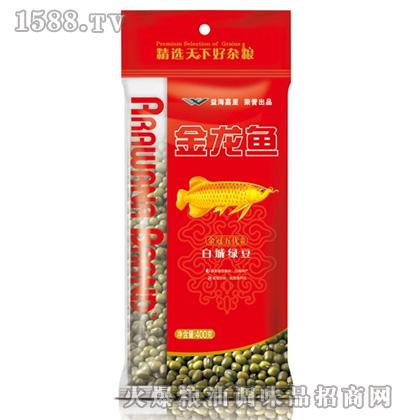 金龙鱼白城绿豆(袋装400g)