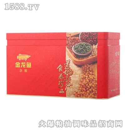 金龙鱼精装铁质礼盒(有礼袋400g×9)